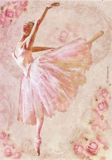Pictures For Decoupage - ricepaper decoupage paper scrapbooking sheets ballet