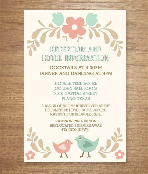 purple blue reception card popular wedding reception invitations