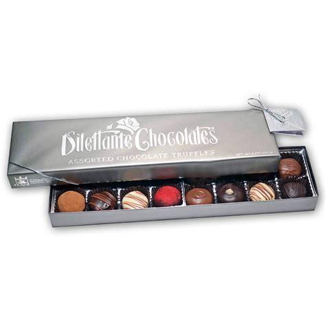 Gourmet Box of Chocolates   Premium Hand Dipped Chocolate Truffles
