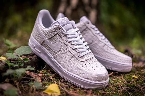 Nike Air 1 Low Leather All White nike air 1 low white croc sneaker bar detroit