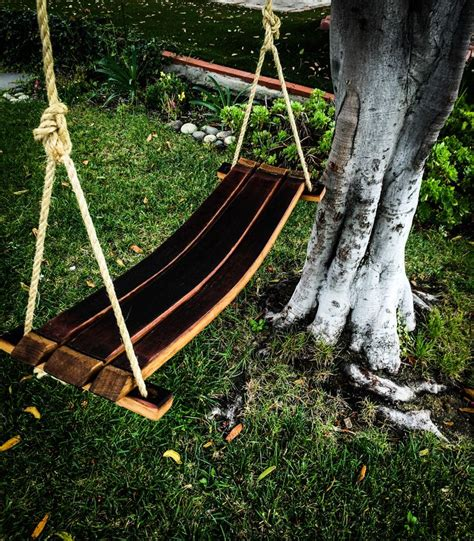 wine barrel swing 17 best images about wine whiskey barrel items on