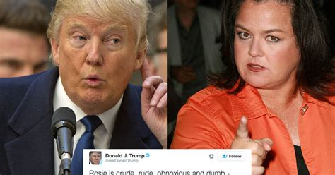 Deathmatch Donald Vs Rosie Odonnell by Rosie O Donnell Should Be In After Tweet