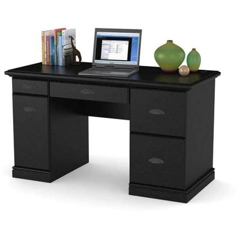 Computer Desk Workstation Table Modern Executive Wood Home Office Table Desk