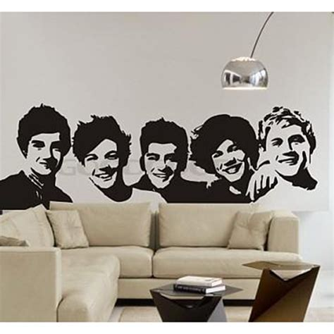one direction wall stickers one direction wall sticker poster living room decals