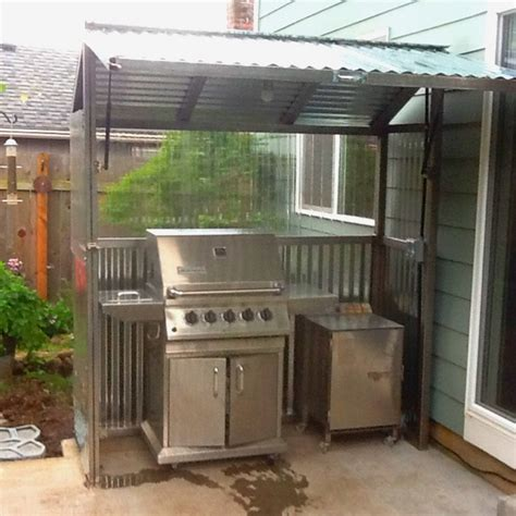 diy backyard grill build your own backyard grill gazebo