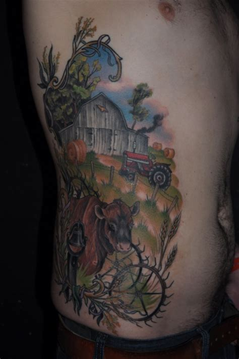 farm tattoos 25 best ideas about farm on floral arm