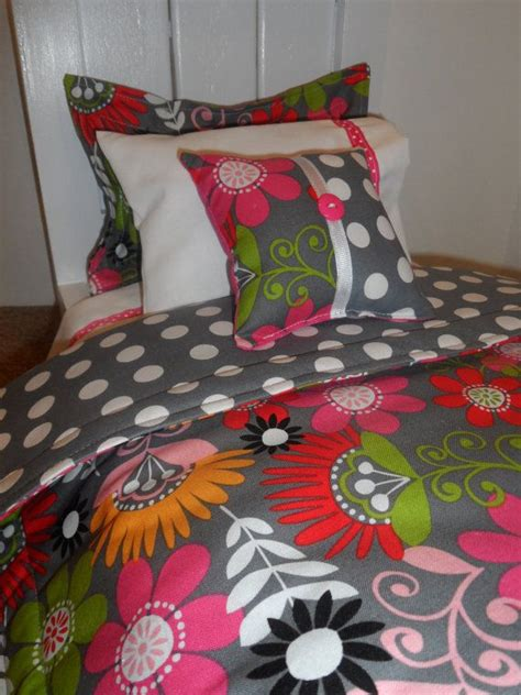 cosmo bedding american bedding cosmo meadow floral flowers 5 bedding set for 18 quot dolls american