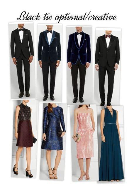 black tie optional creative dress code summer