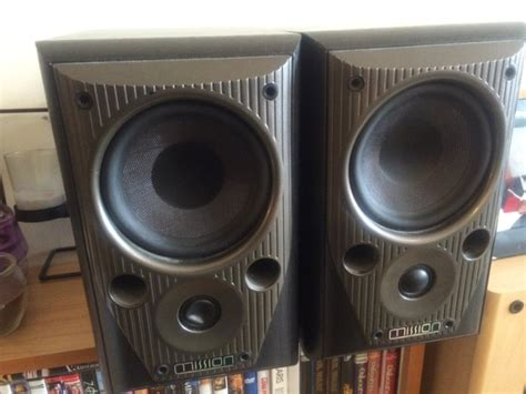 mission m70 bookshelf speakers for sale in christchurch
