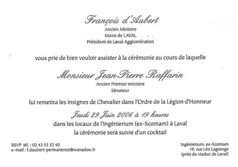 Mod Le Lettre D Invitation D Honneur www fo laval syndicat fo des municipaux de laval