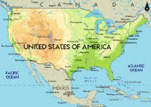 united states and canada physical map physical map of the united states and canada driverlayer