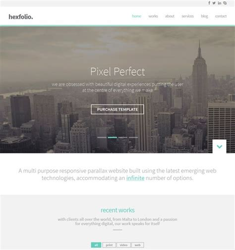 enfold theme google web font 32 best 31 more of the best parallax wordpress themes