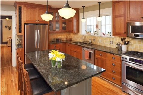 arts and crafts kitchen design arts and crafts kitchen ideas