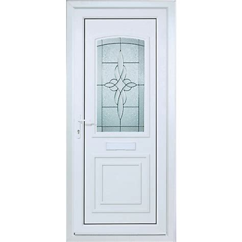 Wickes Front Door Wickes Medway Pre Hung Upvc Door 2085 X 920mm Left Hung Wickes Co Uk