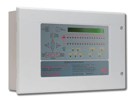 Alarm Panel xfp501k h networkable single loop 32 zone keypad keyswitch entry alarm panel