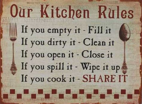 office kitchen etiquette