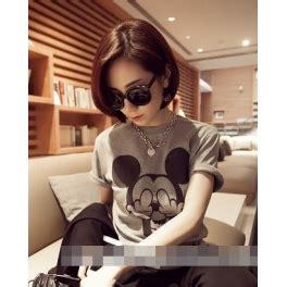 Kaos Katun Wanita Mickey Mouse 1 kaos wanita gambar mickey mouse t967 moro fashion