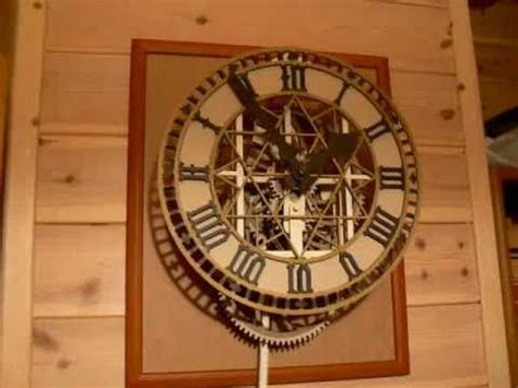 How To Make A Clock With Paper - paper clock finished