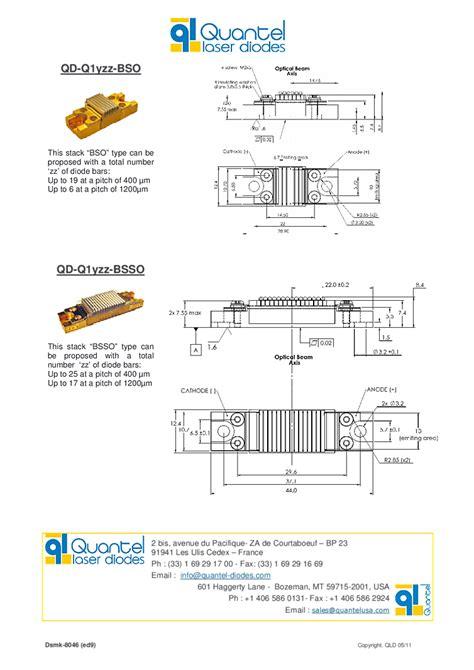quantel laser diodes quantel laser diode 915nm 500w stack diode laser