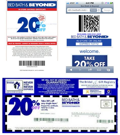 mobile bed bath and beyond coupon bed bath and beyond sales events printable coupons online