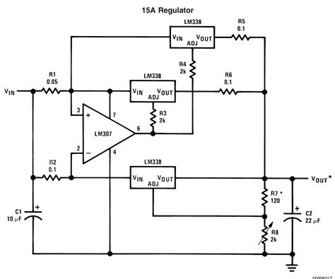lm338 resistor wattage ic lm338 application circuits explained in simple words