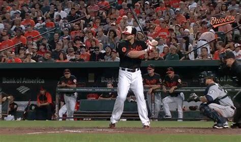 chris davis swing chris davis hit his 40th home run of the season in the