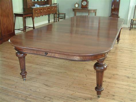 Extending Oak Dining Table Seats 12 Oak Extending Dining Table Seats 12 14 252645 Sellingantiques Co Uk