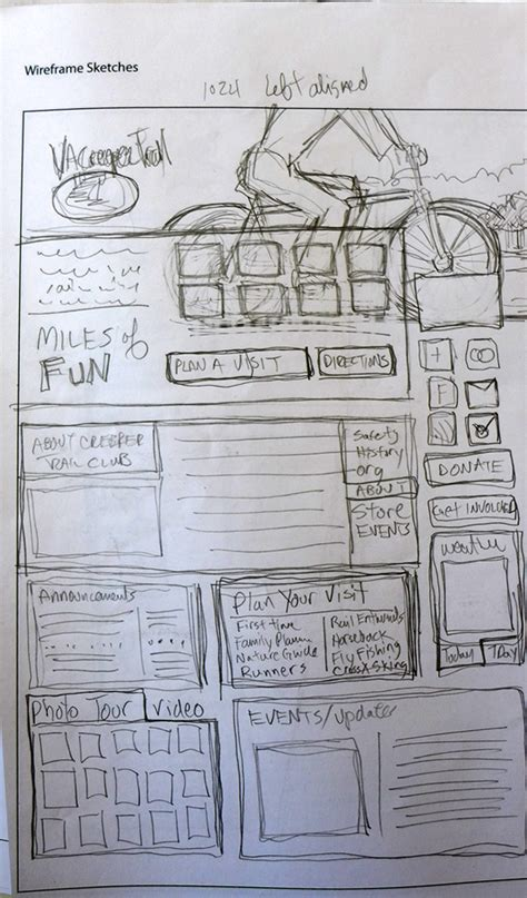 sketchbook web planning your web design with sketches