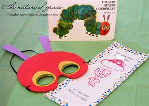 Caterpillar Mask Template by The Nature Of Grace New School Room Reveal Days