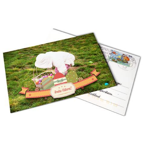 Fotos Als Postkarte Verschicken 1359 by Osterkarten Gestalten Und Verschicken