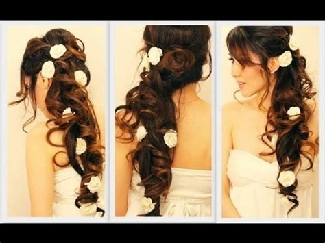how to do voluminous hairstyles voluminous homecoming wedding hair tutorial elegant