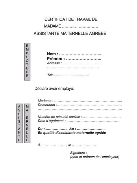 certificatdetravail par josiane certificat de travail
