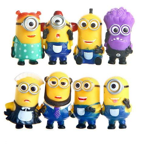 Set Minion minion set 8 pc s cakes and supplies