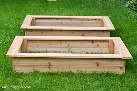 How To Make A Garden Box How To Make A Vegetable Garden Box
