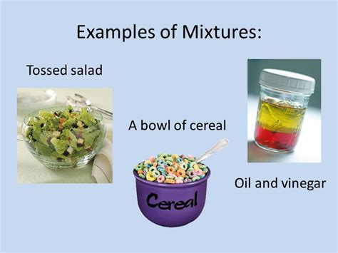 exle of mixture compounds and mixtures ppt