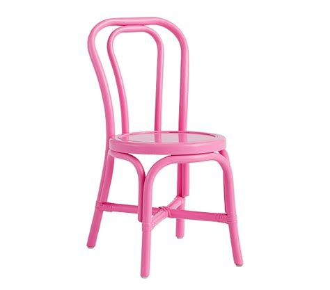 Pink Bistro Chair Bistro Play Chair Pink Pottery Barn
