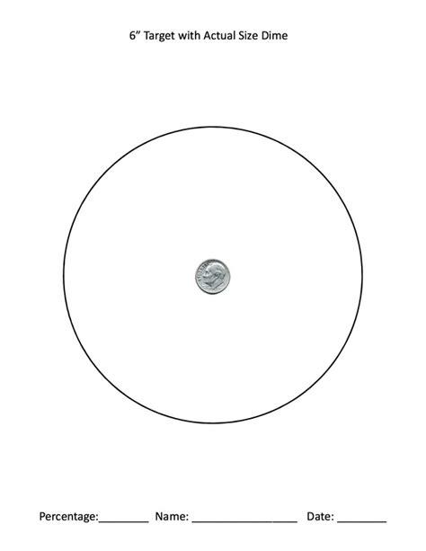 printable 8 inch targets printable targets deans defensive shooting prepare