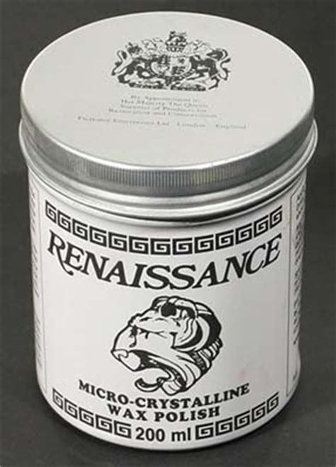 renaissance wax uses to refinish or not