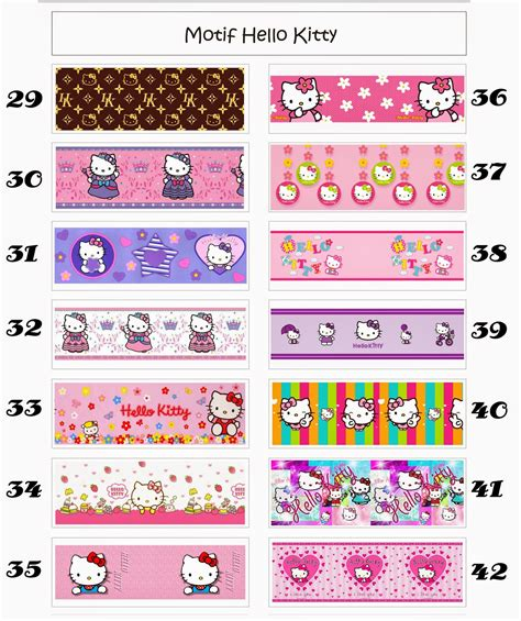 jual wallpaper hello kitty di bandung wallpaper dinding murah meriah 103 jual wallpaper dinding