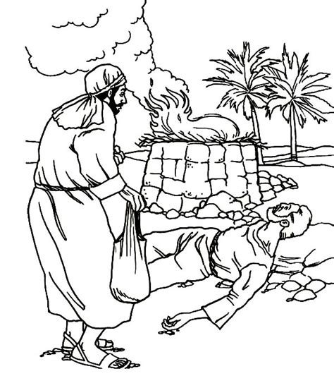 adam and eve cain and abel coloring page cain and abel bible coloring pages sketch coloring page