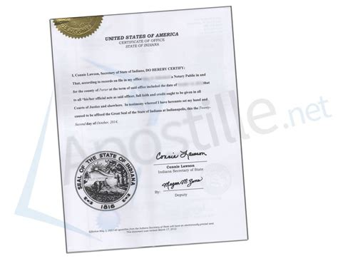Marion County Indiana Marriage Records Search State Of Indiana Certification Issued By Connie Lawson Of State State Of