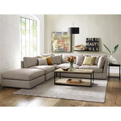 home decorators collection home decorators collection griffith sugar shack putty sectional 9615600210 the home depot