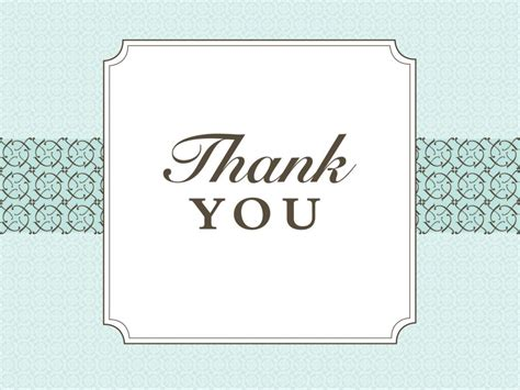 thank you powerpoint template thank you slide powerpoint templates aqua cyan