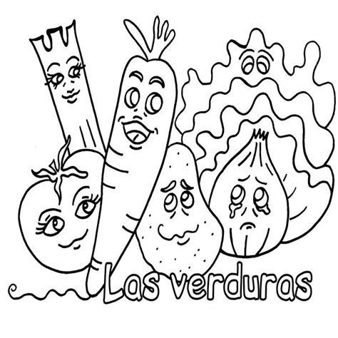 imagenes de verduras faciles para dibujar dibujos para colorear de frutas y verduras animadas