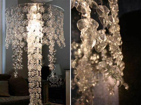 Diy Bottle Chandelier Diy A Water Bottle Chandelier Gearfuse