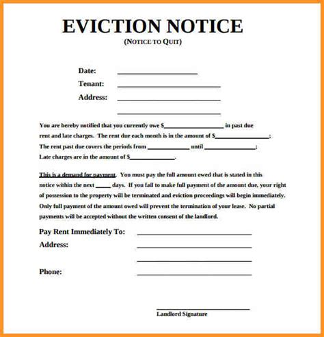 eviction notice template alberta free 4 eviction notice alberta cook resume