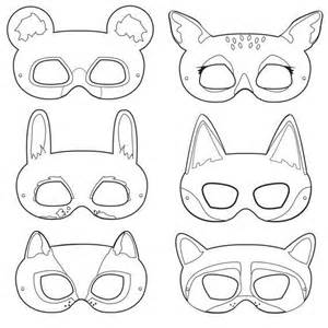 Printable Animal Masks Templates by 25 Best Ideas About Animal Masks On Paper