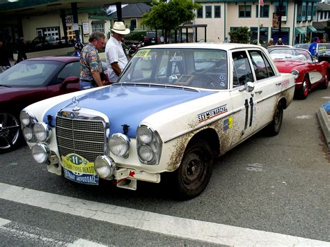 mercedes rally mercedes 300sel amg rally car