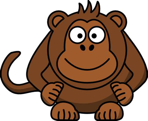 clipart monkeys monkey clip at clker vector clip