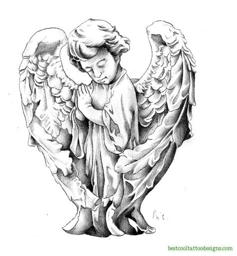 cool angel tattoo design in designs page 2 best cool designs